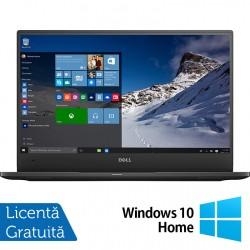 Laptop DELL Latitude 7370, Intel Core M5-6Y57 1.10-2.80GHz, 8GB DDR3, 240GB SSD, 13.3 Inch Full HD, Webcam + Windows 10 Home - ShopTei.ro