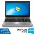 Laptop HP EliteBook 8570p, Intel Core i7-3520M 2.90GHz, 4GB DDR3, 120GB SSD, DVD-RW, 15.6 Inch, Webcam, Tastatura Numerica + Windows 10 Home