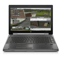 Laptop HP EliteBook 8570w, Intel Core i7-3610QM 2.30GHz, 4GB DDR3, 500GB SATA, nVidia K1000M, DVD-RW, 15.6 Inch Full HD, Webcam, Tastatura Numerica, Grad B (0281) - ShopTei.ro