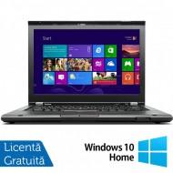 Laptop LENOVO ThinkPad T430, Intel Core i7-3520M 2.9GHz, 8GB DDR3, 240GB SSD, DVD-RW, 14 Inch, Webcam + Windows 10 Home