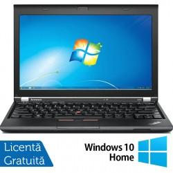 Laptop LENOVO Thinkpad x230, Intel Core i7-3520M 2.90GHz, 4GB DDR3, 120GB SSD, Fara Webcam, 12.5 Inch + Windows 10 Home - ShopTei.ro