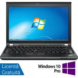 Laptop LENOVO Thinkpad x230, Intel Core i7-3520M 2.90GHz, 4GB DDR3, 120GB SSD, Fara Webcam, 12.5 Inch + Windows 10 Pro - ShopTei.ro