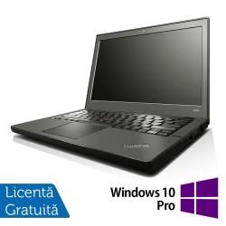 Laptop LENOVO Thinkpad x240, Intel Core i7-4600U 2.10GHz, 8GB DDR3, 120GB SSD, 12.5 Inch, Webcam + Windows 10 Pro - ShopTei.ro