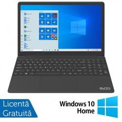 Laptop Nou EVOO EVC156-1BK, Intel Core i7-6660U 2.40-3.40GHz, 8GB DDR4, 256GB SSD, 15.6 Inch Full HD, Bluetooth, Webcam, Tastatura Numerica + Windows 10 Home - ShopTei.ro