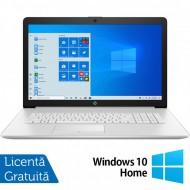 Laptop Nou HP 17-BY3053cl, Intel Core i5 Gen 10 i5-1035G1 1.00-3.60GHz, 12GB DDR4, 1TB HDD, DVD-RW, 17.3 Inch Full HD, Bluetooth, Webcam, Tastatura Numerica + Windows 10 Home