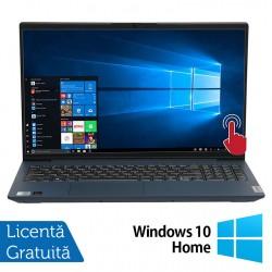 Laptop Nou Lenovo IdeaPad 5 15IIL05, Intel Core Gen 10 i7-1065G7 1.30-3.90GHz, 12GB DDR4, 512GB SSD, 15.6 Inch Full HD IPS LED TouchScreen, Bluetooth + Windows 10 Home (Ambalaj original deschis, webcam nefunctional) - ShopTei.ro