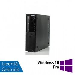 Calculator Lenovo Thinkcentre E73 Desktop, Intel Core i5-4430s 2.70GHz, 8GB DDR3, 500GB SATA, Placa video Gaming AMD Radeon R7 350 4GB, DVD-ROM + Windows 10 Pro - ShopTei.ro