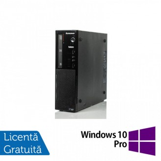 Calculator Lenovo Thinkcentre E73 Desktop, Intel Core i5-4430s 2.70GHz, 8GB DDR3, 500GB SATA, Placa video Gaming AMD Radeon R7 350 4GB, DVD-ROM + Windows 10 Pro