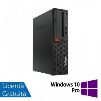Calculator Lenovo M710 SFF, Intel Core i3-6100 3.70GHz, 8GB DDR4, 500GB SATA + Windows 10 Pro