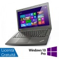 Laptop LENOVO ThinkPad T440P, Intel Core i5-4300M 2.60GHz, 4GB DDR3, 500GB SATA, DVD-RW, 14 Inch + Windows 10 Pro