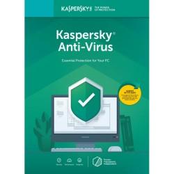 Licenta Retail Kaspersky Anti-Virus - protectie premiata, eficienta si securitate usor de gestionat - valabila pentru 1 an, 1 echipament - ShopTei.ro