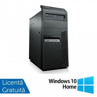 Calculator Lenovo Thinkcentre M92 Tower, Intel Core i5-3470 3.20GHz, 4GB DDR3, 250GB SATA, DVD-RW + Windows 10 Home