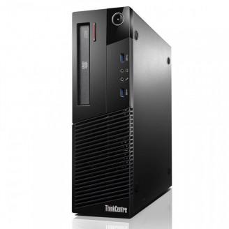 Calculator Lenovo Thinkcentre M93p SFF, Intel Core i5-4570 3.20GHz, 8GB DDR3, 120GB SSD, Placa video Gaming AMD Radeon R7 350 4GB GDDR5 128-Bit, DVD-RW