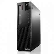 Calculator Lenovo Thinkcentre M93p SFF, Intel Core i5-4690T 2.50GHz, 8GB DDR3, 120GB SSD, Placa video Gaming Geforce GTX 750/4GB GDDR5/128Bit, DVD-RW