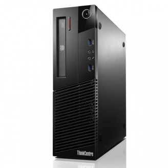 Calculator Lenovo Thinkcentre M93p SFF, Intel Core i5-4570 3.20GHz, 8GB DDR3, 120GB SSD, Placa video Gaming Geforce GTX 750/4GB GDDR5/128Bit, DVD-RW