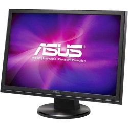Monitor ASUS VW195N, 19 Inch LCD, 1440 x 900, VGA, DVI