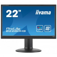 Monitor Iiyama B2280HS, 22 Inch Full HD LED, VGA, DVI, Display Port