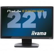 Monitor Iiyama E2208HDD, 22 Inch Full HD, VGA, DVI, Grad A-