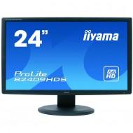 Monitor LCD iiYama ProLite B2409HDS, 24 Inch Full HD, VGA, DVI, HDMI