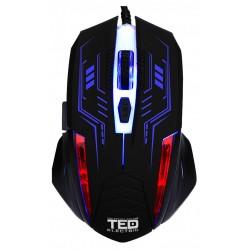 Mouse de Gaming 2400dpi, Iluminare LED, cablu USB 1.5M, 6 Butoane, TED-MO531 - ShopTei.ro