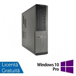 Calculator DELL OptiPlex 3010 Desktop, Intel Pentium G870 3.10GHz, 4GB DDR3, 250GB SATA, DVD-RW + Windows 10 Pro - ShopTei.ro