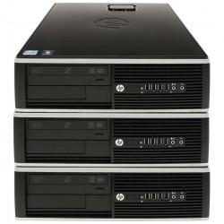 Pachet 3x Calculator HP 6005 SFF, AMD Athlon II x2 215 2.70GHz, 4GB DDR3, 250GB SATA, DVD-RW - ShopTei.ro