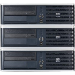 Pachet 3x Calculator HP DC5850, AMD Athlon 64 X2 5200B 2.70GHz, 4GB DDR2, 160GB SATA, DVD-RW - ShopTei.ro