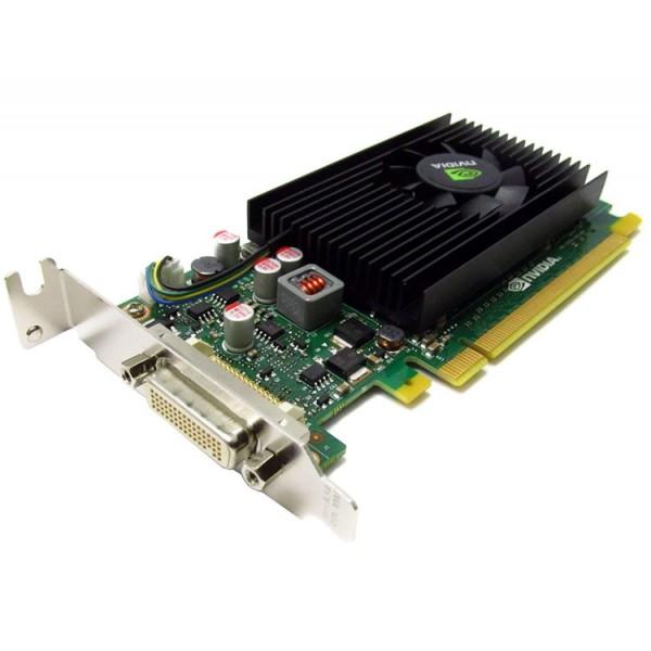 Placa video Nvidia Quadro NVS 315, 1GB DDR3, 64-bit, Low Profile + Cablu DMS-59 cu doua iesiri VGA - ShopTei.ro