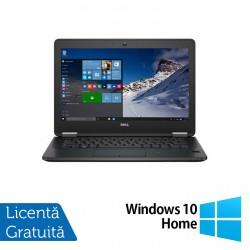 Laptop DELL Latitude E7270, Intel Core i5-6300U 2.30GHz, 8GB DDR4, 256GB SSD M.2 SATA, 12.5 Inch Full HD, Webcam + Windows 10 Home - ShopTei.ro
