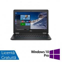 Laptop DELL Latitude E7270, Intel Core i5-6300U 2.30GHz, 8GB DDR4, 256GB SSD M.2 SATA, 12.5 Inch Full HD, Webcam + Windows 10 Pro - ShopTei.ro