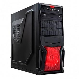 Sistem PC, Intel Core i3-3220 3.30GHz, 8GB DDR3, 120GB SSD + 1TB SATA, Placa Video AMD Radeon RX 550 4GB GDDR5, DVD-RW, CADOU Tastatura + Mouse