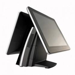 Sistem POS FEC AerPOS AP-3615, 2 x 15 Inch LCD TouchScreen, 1024 x 768, Intel Celeron G540 2.50GHz, 4GB DDR3, 320GB SATA - ShopTei.ro