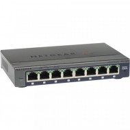 Switch Netgear ProSafe Plus GS108E v3, 8 Porturi 10/100/1000, Managed