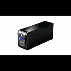 UPS TED Electric 700VA/400W, Cu stabilizator, Display LCD, 2 x Schuko - ShopTei.ro