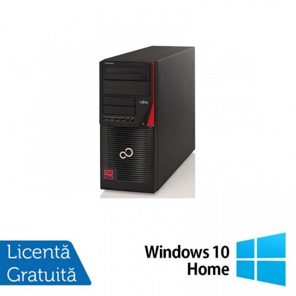 Calculator FUJITSU CELSIUS W530, Intel Core i7-4790 3.60GHz, 8GB DDR3, 500GB SATA, DVD-RW + Windows 10 Home - ShopTei.ro
