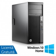 Workstation HP Z230 Tower, Intel Quad Core i5-4690 3.50GHz-3.90GHz, 8GB DDR3, 1TB SATA, DVD-RW, nVidia K620/2GB + Windows 10 Home