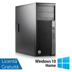 Workstation HP Z230 Tower, Intel Quad Core i5-4690 3.50GHz-3.90GHz, 8GB DDR3, 1TB SATA, DVD-RW, nVidia K620/2GB + Windows 10 Home - ShopTei.ro