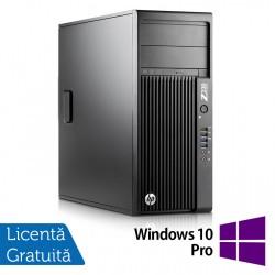 Workstation HP Z230 Tower, Intel Quad Core i5-4690 3.50GHz-3.90GHz, 8GB DDR3, 240GB SSD Nou, DVD-RW, nVidia K620/2GB + Windows 10 Pro - ShopTei.ro