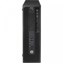 Workstation HP Z240 Desktop, Intel Xeon Quad Core E3-1230 V5 3.40GHz-3.80GHz, 8GB DDR4, HDD 500GB SATA, Placa video Gaming AMD Radeon R7 350 4GB GDDR5 128-Bit, DVD-RW - ShopTei.ro