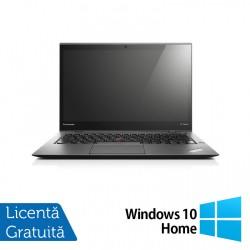 Laptop Lenovo ThinkPad X1 CARBON, Intel Core i7-4550U 1.50-3.00GHz, 8GB DDR3, 120GB SSD, 14 Inch, Webcam + Windows 10 Home - ShopTei.ro