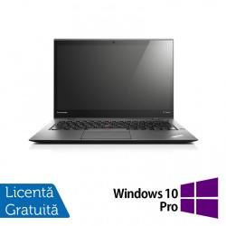Laptop Lenovo ThinkPad X1 CARBON, Intel Core i7-4550U 1.50-3.00GHz, 8GB DDR3, 120GB SSD, 14 Inch, Webcam + Windows 10 Pro - ShopTei.ro