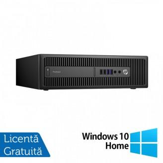 Calculator HP Prodesk 600 G2 SFF, Intel Core i5-6400T 2.20GHz, 4GB DDR4, 500GB SATA + Windows 10 Home
