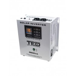 Invertor Solar Ted Electric De La 24v La 230v 2600va 1800w Unda Sinusoidala - ShopTei.ro