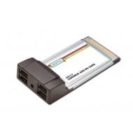 Placa CardBus - USB 2.0, 4 porturi