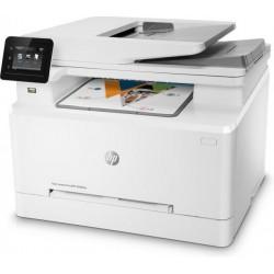 Multifunctional Laser Color HP LaserJet Pro MFP M283fdw, Duplex, ADF, Retea, Wireless, A4 - ShopTei.ro