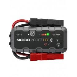 Robot De Pornire Jump Starter Auto 12v Noco Gb70 Boost Hd Lithium 2000a Powerbank Si Lanterna