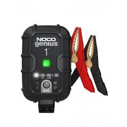 Redresor Noco Genius 1 Auto Moto 6v / 12v 1a Pentru Acumulatori Maxim 30a Plumb-acid Agm Gel Vrla Litiu - ShopTei.ro