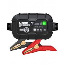 Redresor Noco Genius 2 Auto Moto 6v / 12v 2a Pentru Acumulatori Maxim 40a Plumb-acid Agm Gel Vrla Litiu - ShopTei.ro