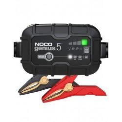 Redresor Noco Genius 5 Auto Moto 6v / 12v 5a Pentru Acumulatori Maxim 120a Plumb-acid Agm Gel Vrla Litiu - ShopTei.ro