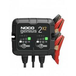 Redresor Noco Genius2x2 Auto Moto 6v / 12v 2 X 2a Pentru Acumulatori Plumb-acid Agm Gel Vrla Litiu - ShopTei.ro